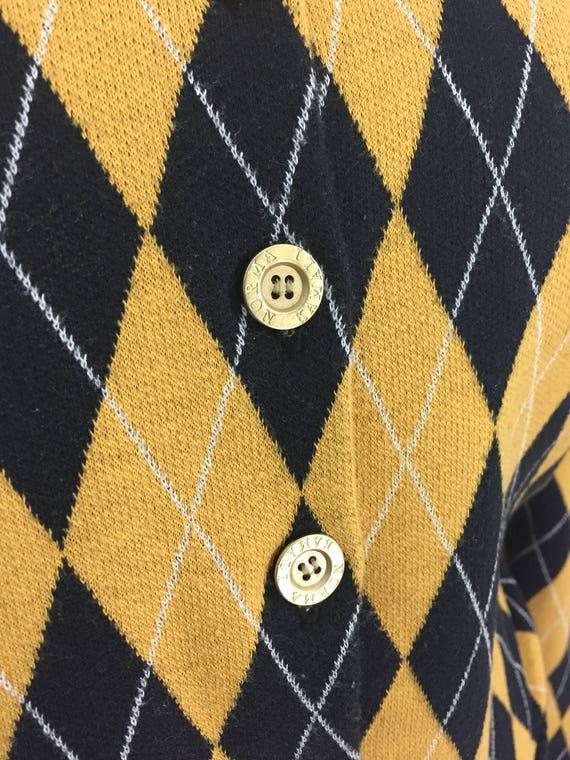 vintage 1980's NORMA KAMALI knit skirt set / blac… - image 4