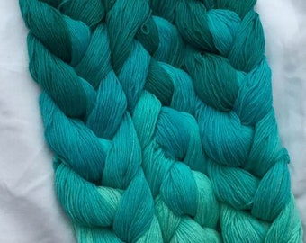 SPECIAL! Mallard Fingering Weight - repeating gradient or warp