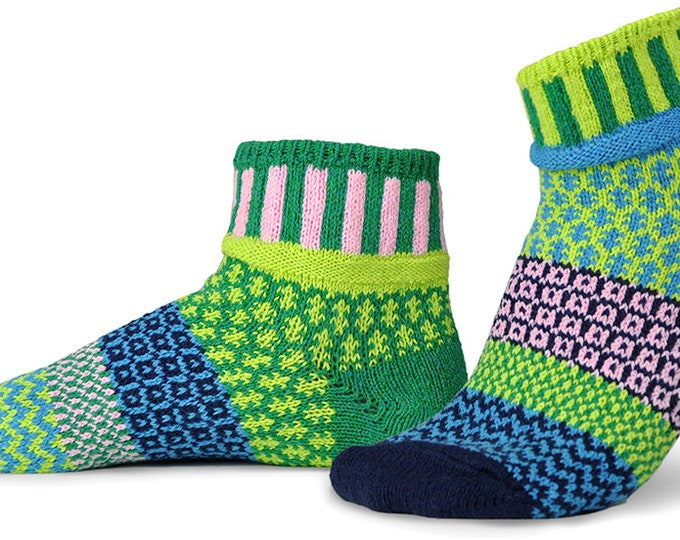 Solmate Ankle Socks - Sweetpea - Adult Medium
