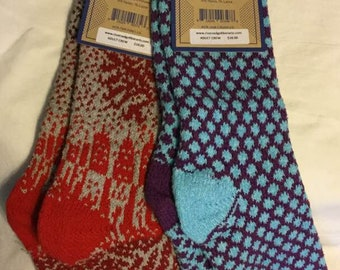 Sock Special - 2 PACK LARGE Side Kick Socks Set B