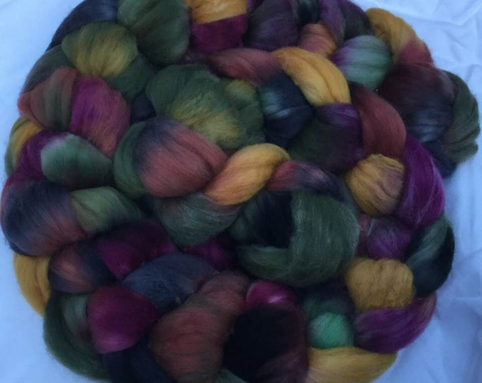 100% Falkland Island Fine Wool Top / Roving 1/2 POUND Celtic Thunder