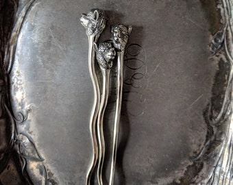 Fiber Beast Alpaca Stick Pin