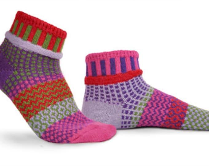 Solmate Ankle Socks - Hyacinth - Adult Large