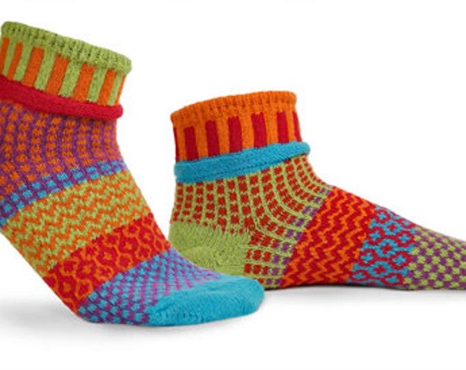 Solmate Ankle Socks - Primrose - Adult Large