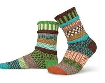 Solmate Socks - September Sun - Adult MEDIUM