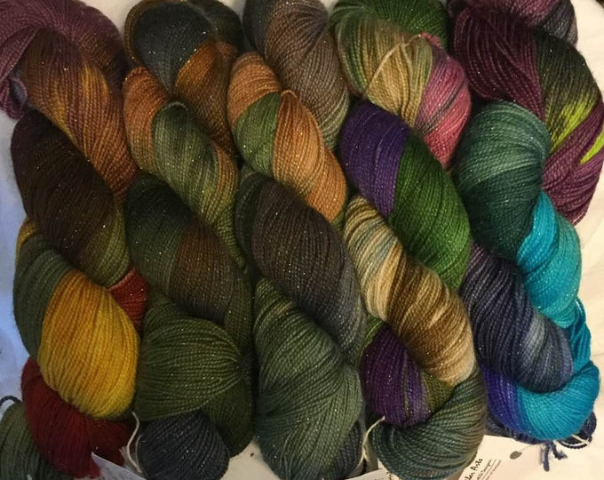 SPECIAL Starry Night Sock Fingering 1st 5-Pack!