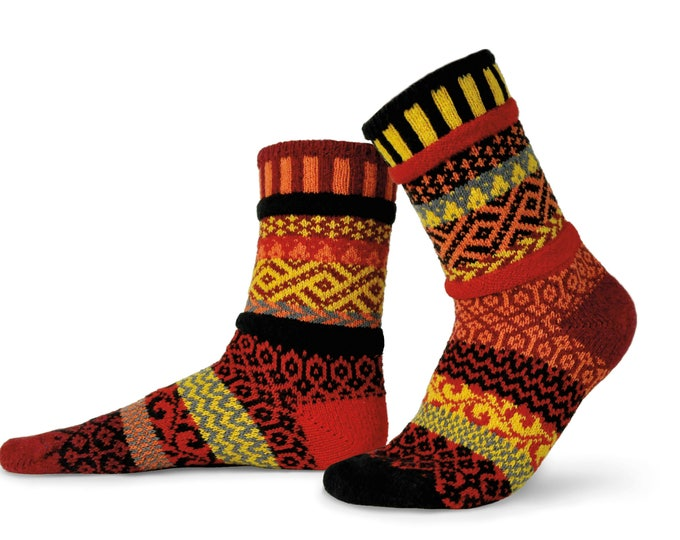 Solmate Socks - Fire Crew, Adult MEDIUM