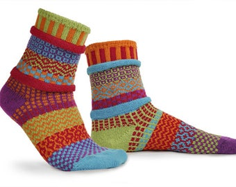 Solmate Socks - Cosmos Crew - Adult SMALL