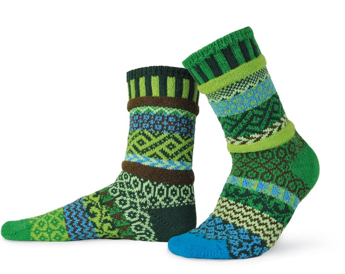 Solmate Socks - Earth Crew - Adult X-Large
