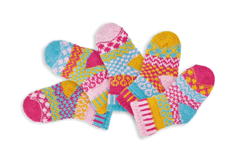 Solmate Kids Babies Socks Cuddlebug 0 6 Months
