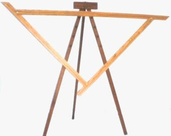 NIB Spriggs 7' Adjustrable Triangle Loom and Stand - Maple, please read shipping details.