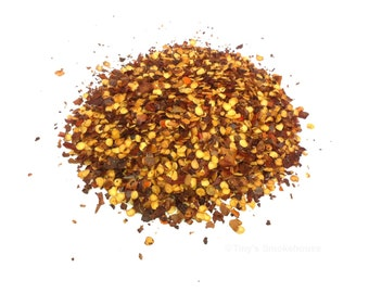 Hickory and Apple Wood Smoked Pepper Flakes - Gourmet Smoked Red Pepper Flakes