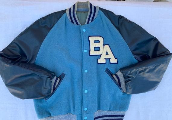 70s Lettermen bomber jacket BA patch