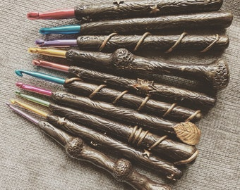 Individual Magic Wand Crochet Hooks