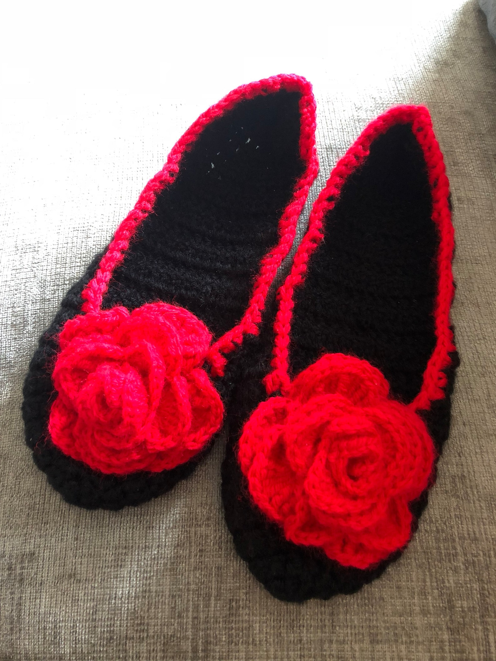 daisy rose ballet house slippers customisable