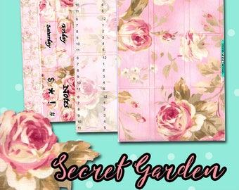Planner Stickers   Traveler's Notebook Stickers   Secret Garden Stickers   Hourly Stickers   TN Stickers