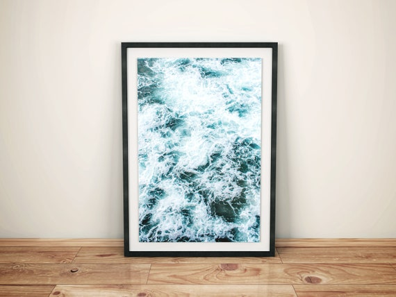 Ocean Waves Instant Downloadable Art Print