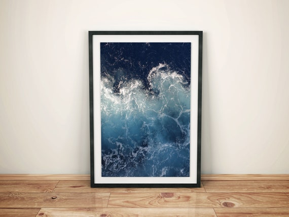 Ocean Waves downloadable art print