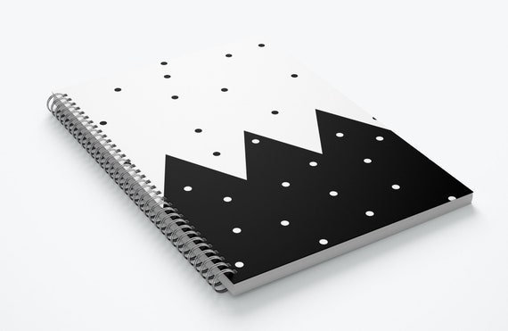 Polka Dot- Spiral Notebook
