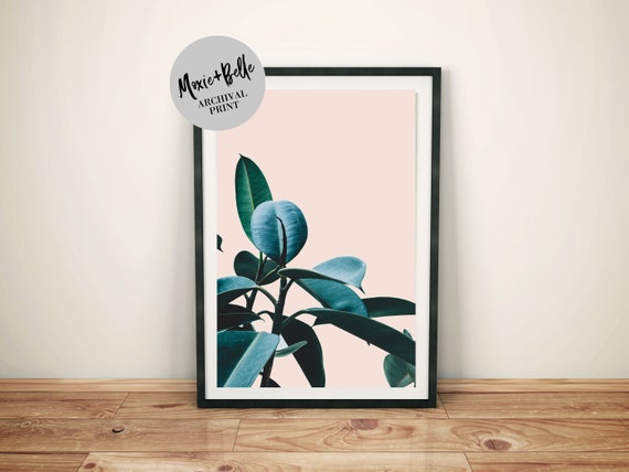 Tropical Plant-Shipped Archival Print