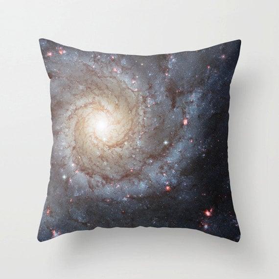 Pinwheel Nebula Pillow Cover, Home Decor,space,universe,stars,heavens, digital art, Pillow, Lounge, Living Room,18 x 18, 22 x 22 ,