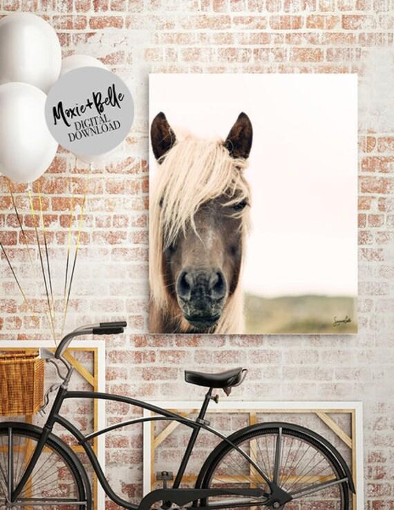 Wild Horse printable wall art