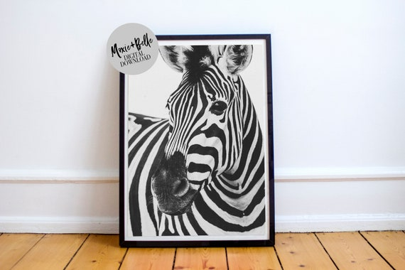 Zebra Crossing 2 printable wall art