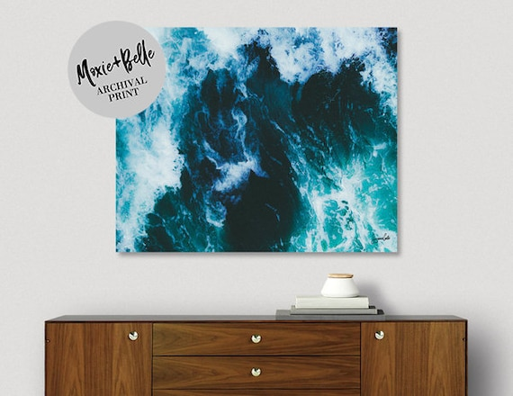 Ocean View Shipped Art Print