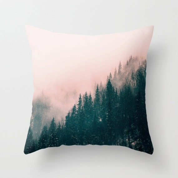 Pink Haze Pillow Cover