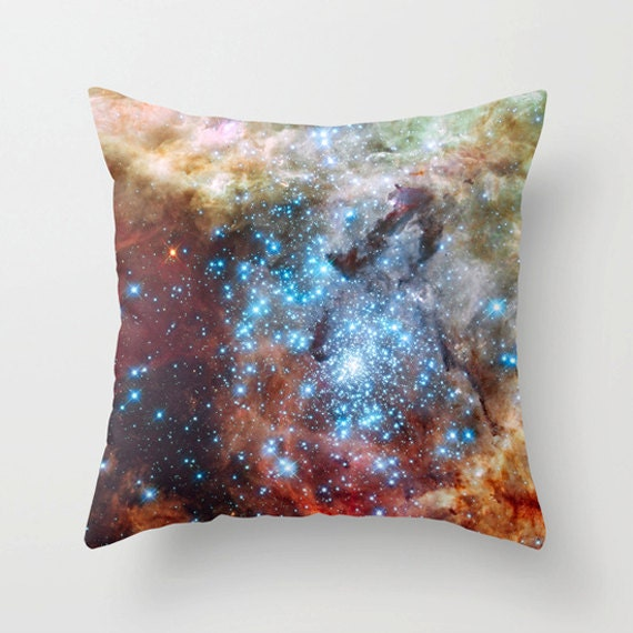 Star Cluster cushion Pillow Cover, Home Decor,space,universe,stars,heavens, digital art, Pillow, Lounge, Living Room,18 x 18, 22 x 22 ,