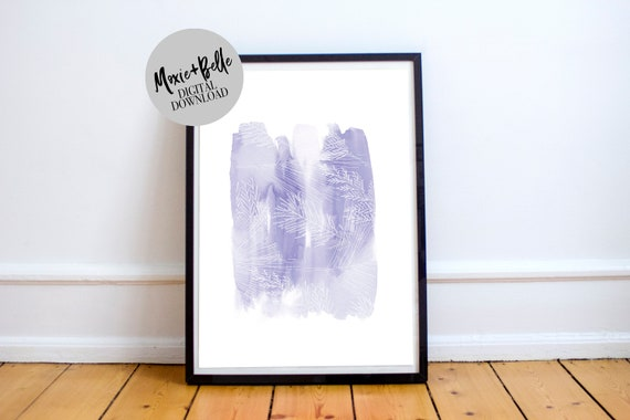 Watercolor abstract Printable Art