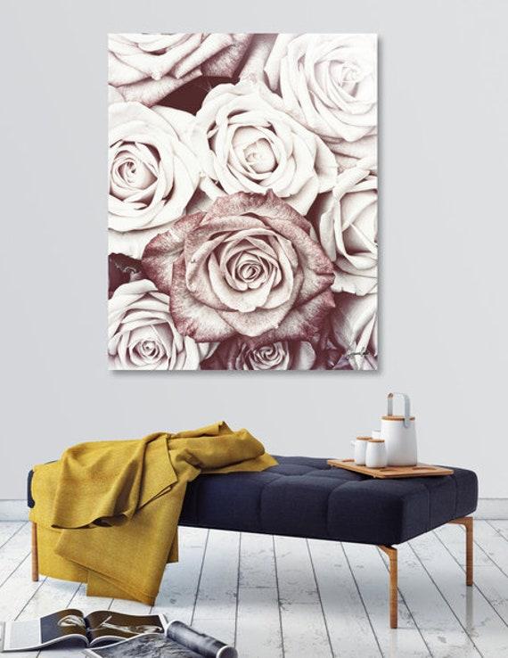 Latte Roses -Shipped Archival Print