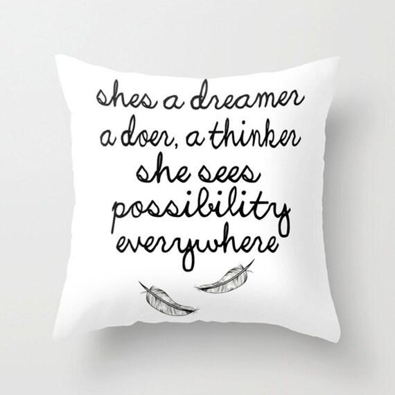 Dreamer Pillow Cover