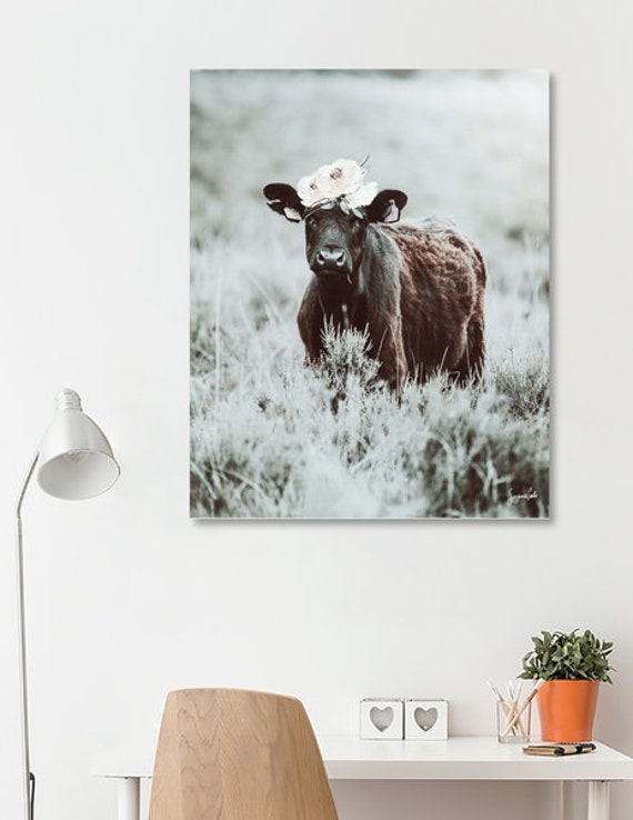 Daisy -Ice printable cow art