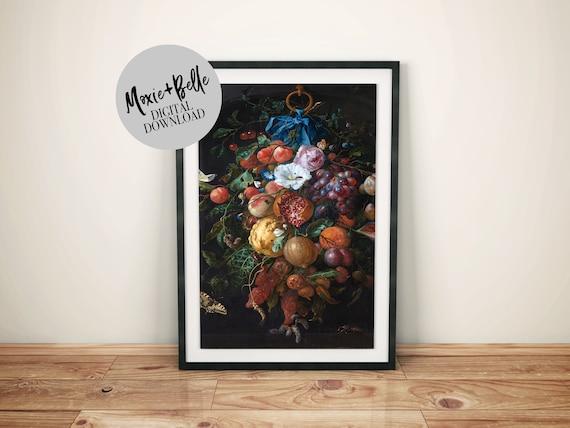 Dutch floral printable art