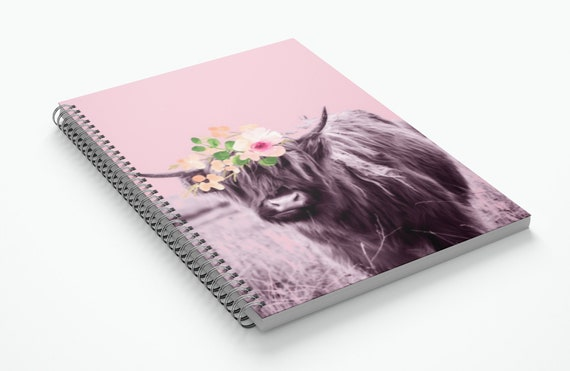 Belle- Spiral Notebook
