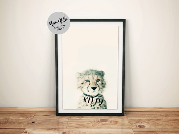 Kitty Shipped Art Print