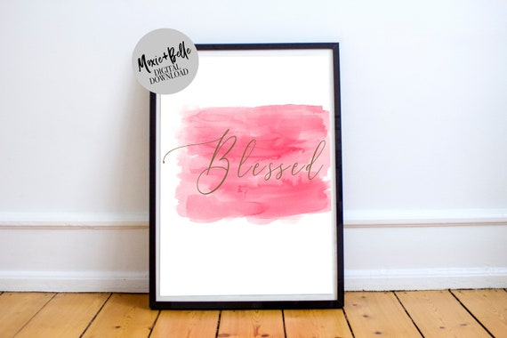 Blessed Printable Art