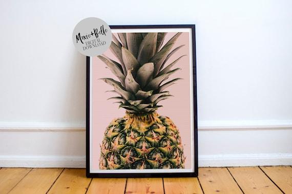 Pineapple -Printable Art