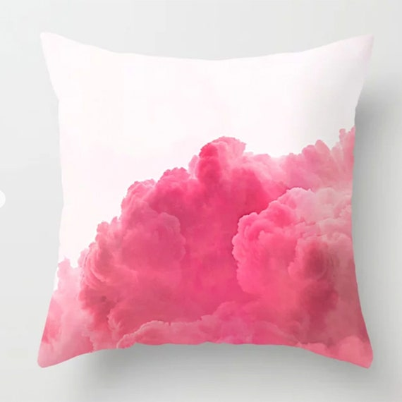 Pink Clouds pillow Cover