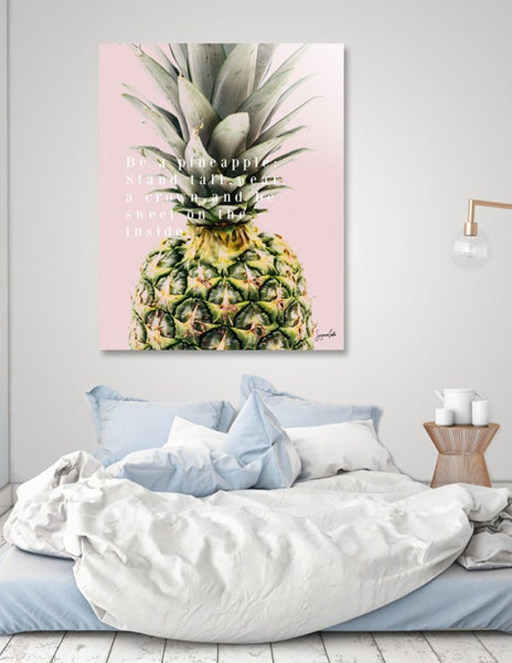 Pineapple -Shipped Archival Print