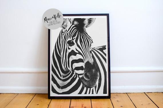 Zebra Crossing printable wall art
