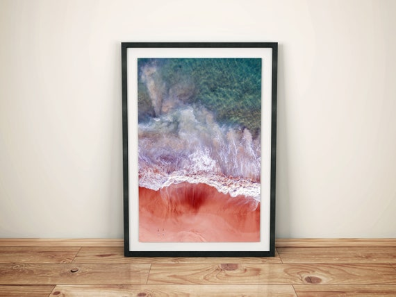 Ocean Waves Printable Artwork