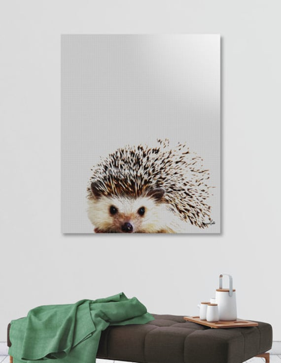 Millie the Hedgehog printable wall art