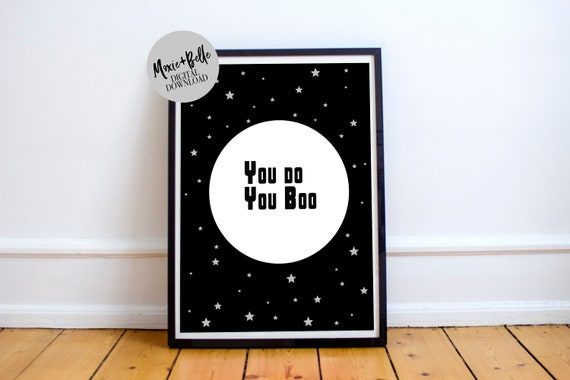 Boo quote printable  wall art