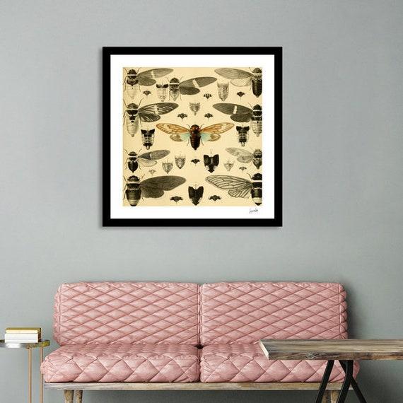 Vintage Cicada Printable Art