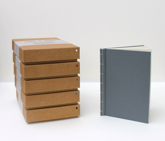 Bookbinding Kit -Crea il tuo libro! Quaderno fatto a mano, quaderno di schizzi, diario. Regalo creativo fai da te perfetto!