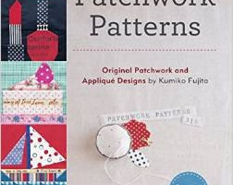 318 Patchwork Patterns by Kumiko Fujita Japanese Quilting and sewing