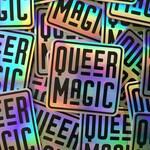 Queer Magic Vinyl Sticker | Holographic Queer Magic Sticker | Queer Pride Sticker
