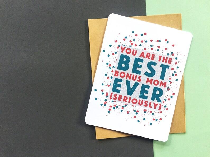 Best Bonus Mom Card Birthday